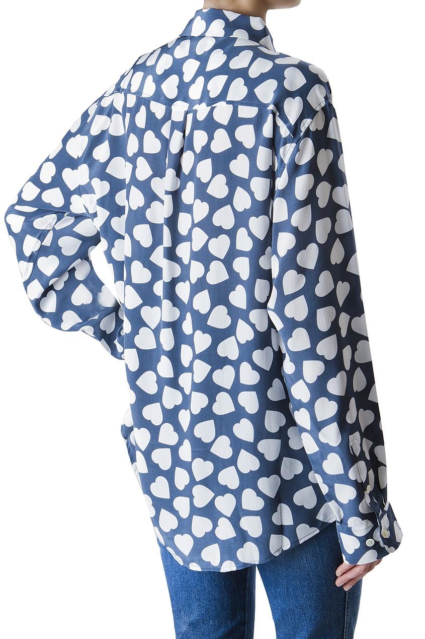 Шелковая рубашка от AIZEL